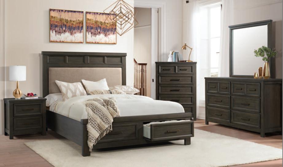 Elements Norwich Complete Bedroom Set Hometown Furniture